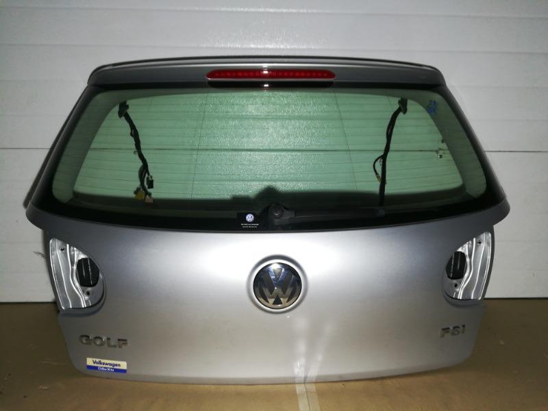 Крышка багажника Volkswagen Golf 1K1 BLF 2007 задняя