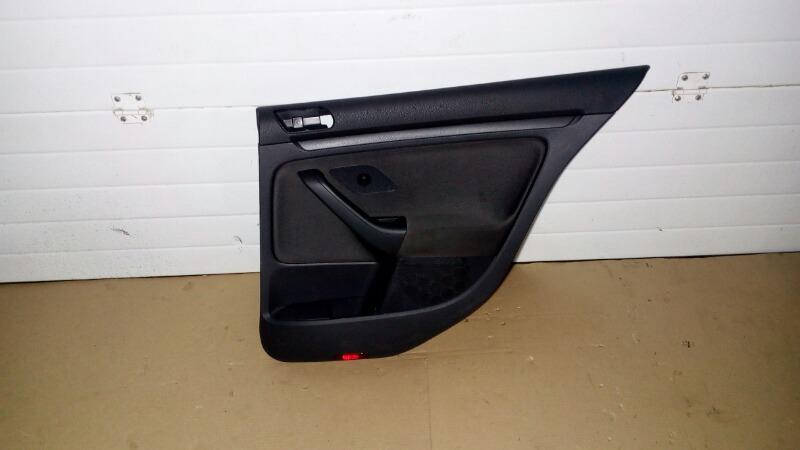 Обшивка двери Volkswagen Golf 1K1 BLF 2007 задняя правая