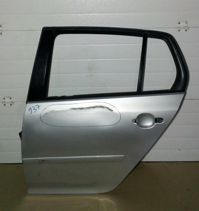 Дверь Volkswagen Golf 1K1 BLF 2007 задняя левая