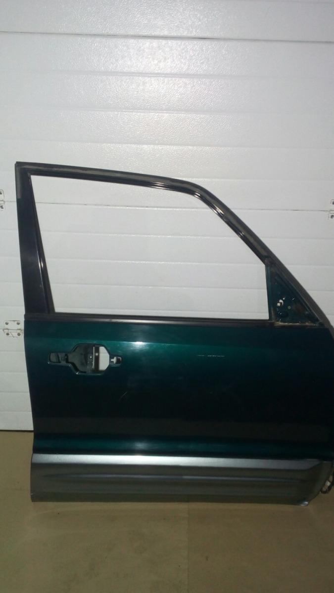 Дверь Mitsubishi Pajero V75W 6G74 2000 передняя правая