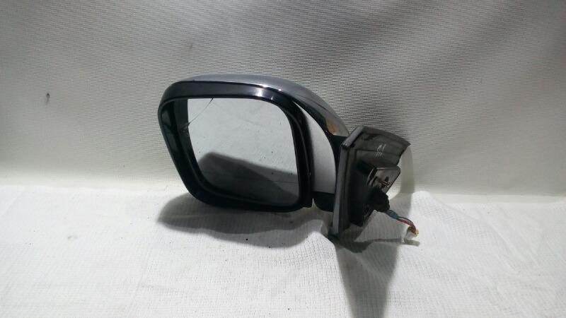 Зеркало заднего вида боковое Mitsubishi Pajero V75W 6G74 2000 левое