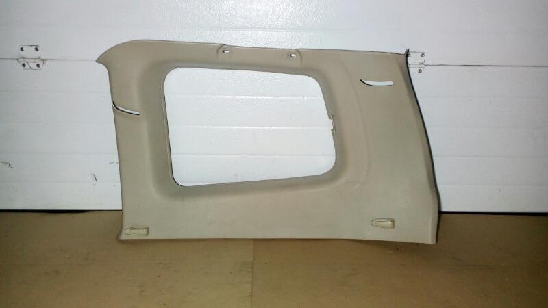 Обшивка багажника Mitsubishi Pajero V75W 6G74 2000 задняя правая верхняя