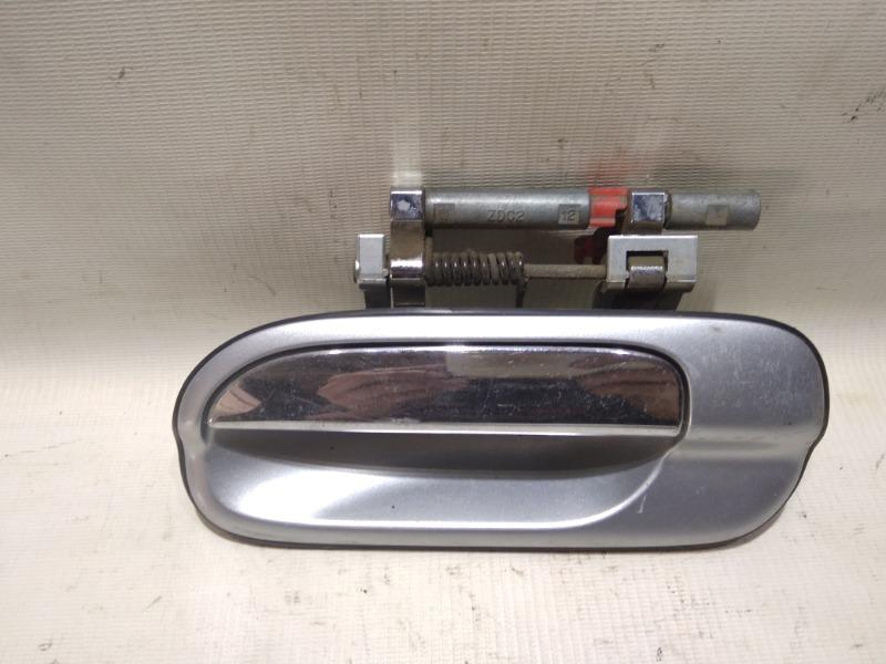 Ручка двери внешняя Nissan Sunny FB15 QG15DE 2000 задняя левая
