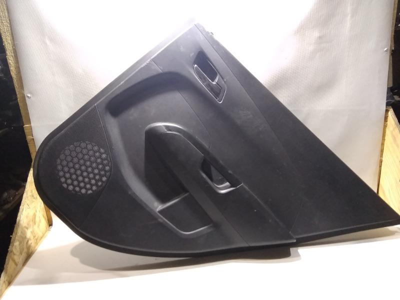 Обшивка двери Chevrolet Aveo T300 F16D4 2013 задняя правая