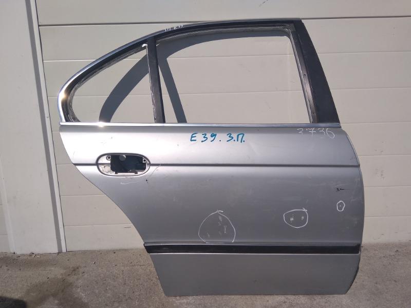 Дверь Bmw 5-Series E39 M52B25 1995 задняя правая