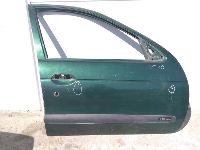 Дверь Renault Megane LA K4M 1999 передняя правая