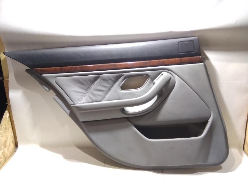 Обшивка двери Bmw 5-Series E39 M52B25 1994 задняя левая