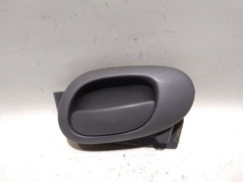 Ручка двери внутренняя Peugeot 206 2A/C TU1JP 2005 задняя правая