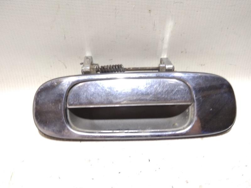Ручка двери внешняя Nissan Bluebird U13 GA16DS 1991 задняя левая
