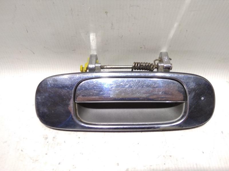 Ручка двери внешняя Nissan Bluebird U13 GA16DS 1991 задняя правая
