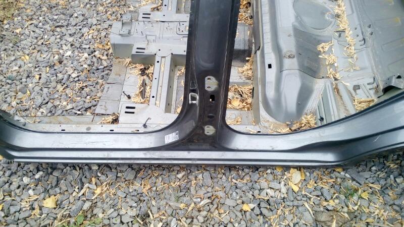 Порог кузовной Chevrolet Aveo T300 F16D4 2013 левый