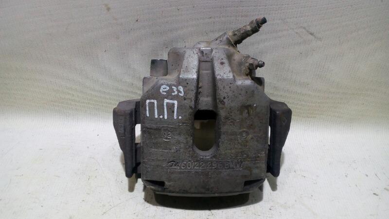 Суппорт тормозной Bmw 5-Series Е39 M52B25 1994 передний правый