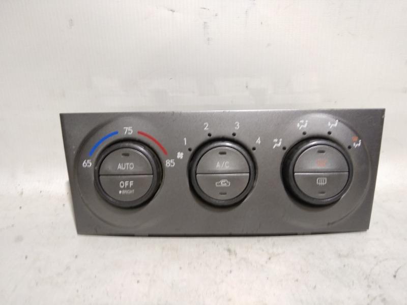 Блок управления климат-контролем Subaru Forester SG5 EJ25 2002