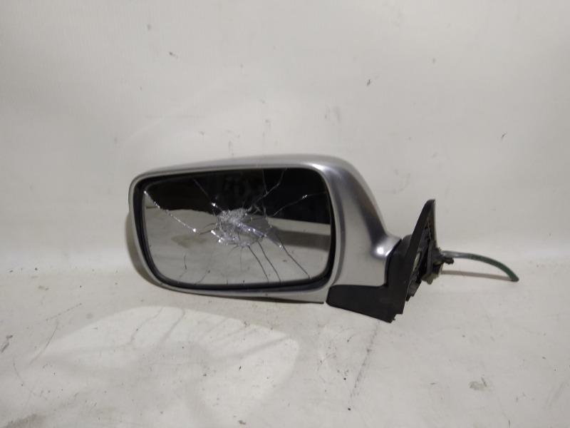 Зеркало заднего вида боковое Subaru Forester SG5 EJ25 2002 переднее левое