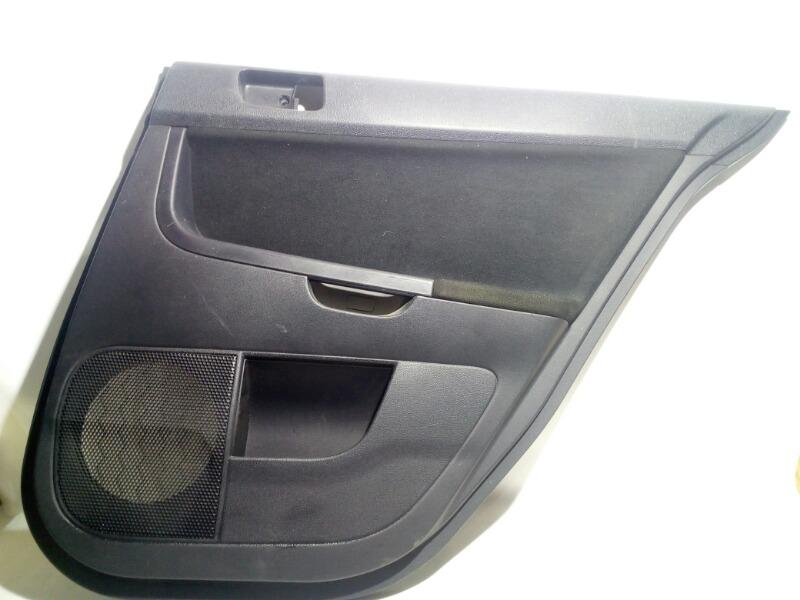 Обшивка двери Mitsubishi Galant Fortis CY4A 4B11 2007 задняя правая