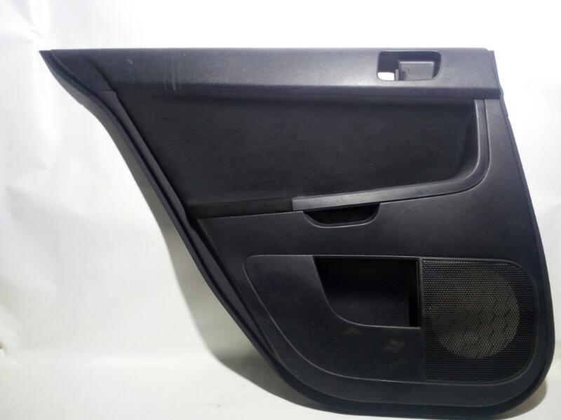 Обшивка двери Mitsubishi Galant Fortis CY4A 4B11 2007 задняя левая