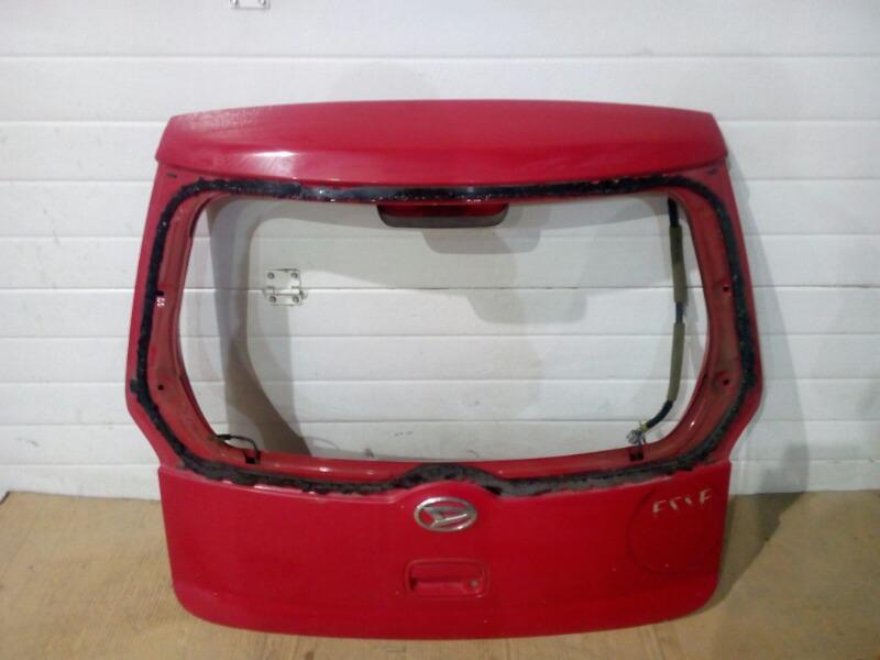 Крышка багажника Daihatsu Esse DBA-L235S KF-VE 2011