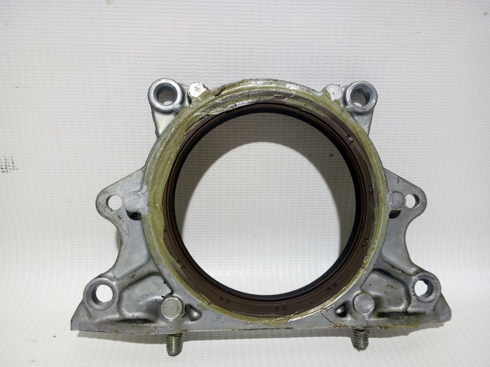 Крышка коленвала Toyota Vitz SCP10 1SZFE 1999 задняя