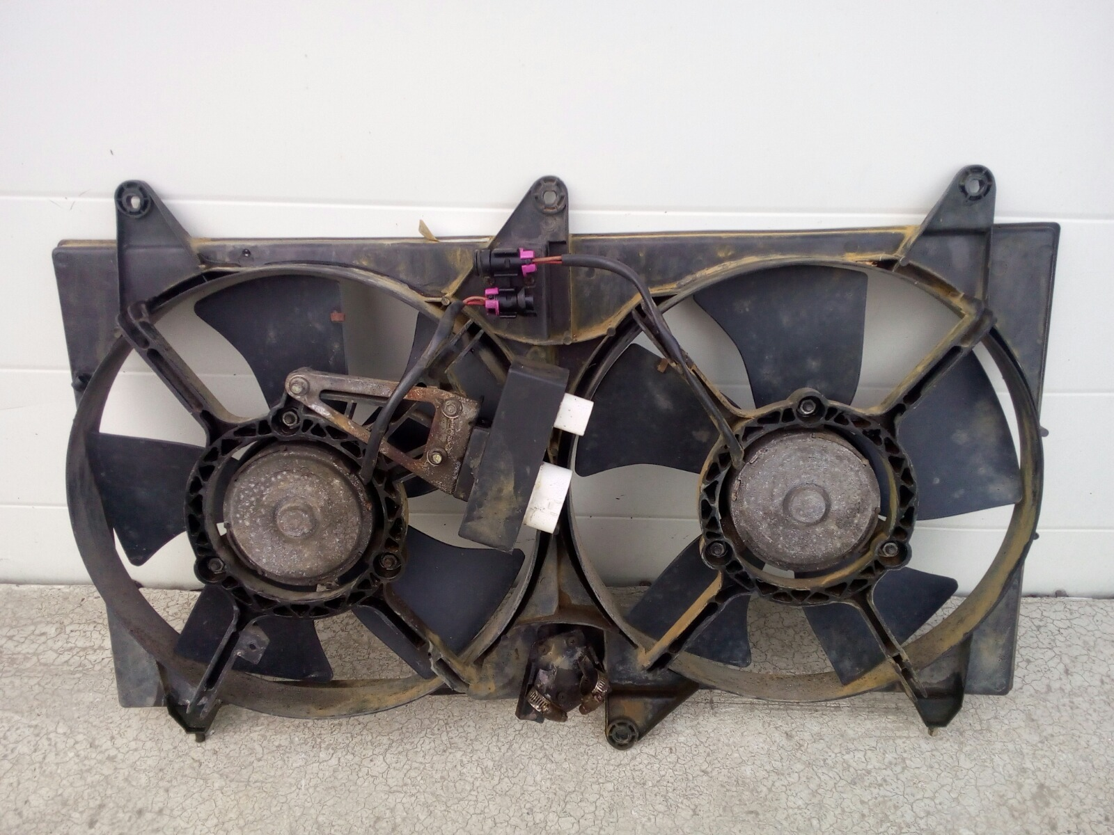 Диффузор радиатора Chery Fora A21 SQR484F 2007