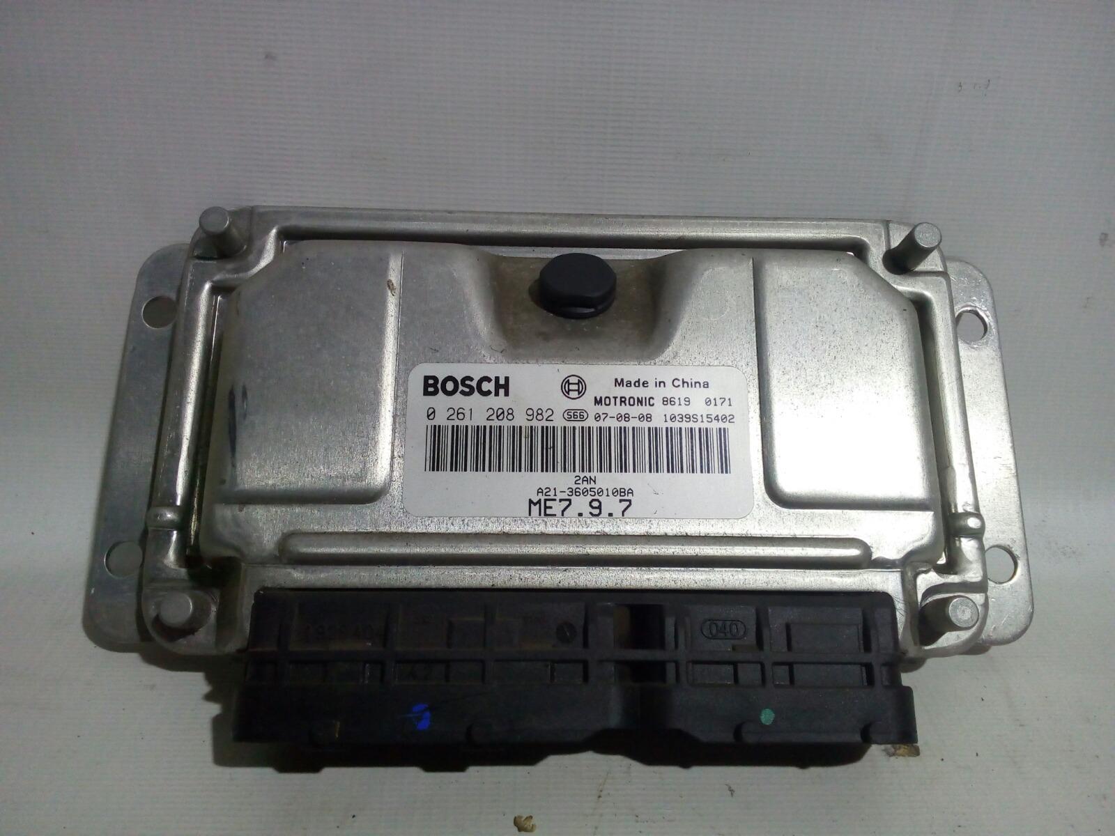 Блок управления двс Chery Fora A21 SQR484F 2007