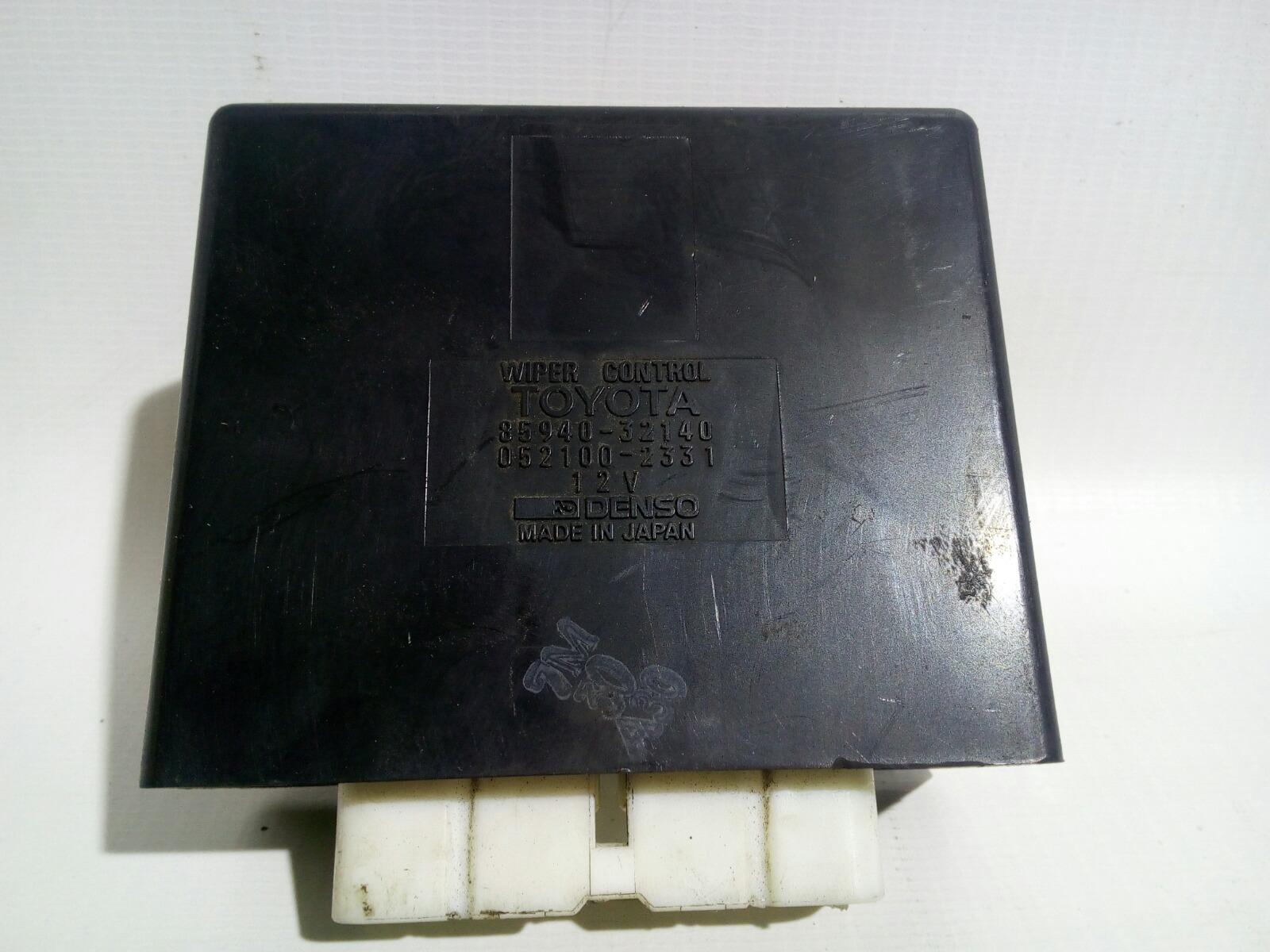 Блок управления стеклоочистителем Toyota Camry Prominet VZV32 4VZ-FE 1992