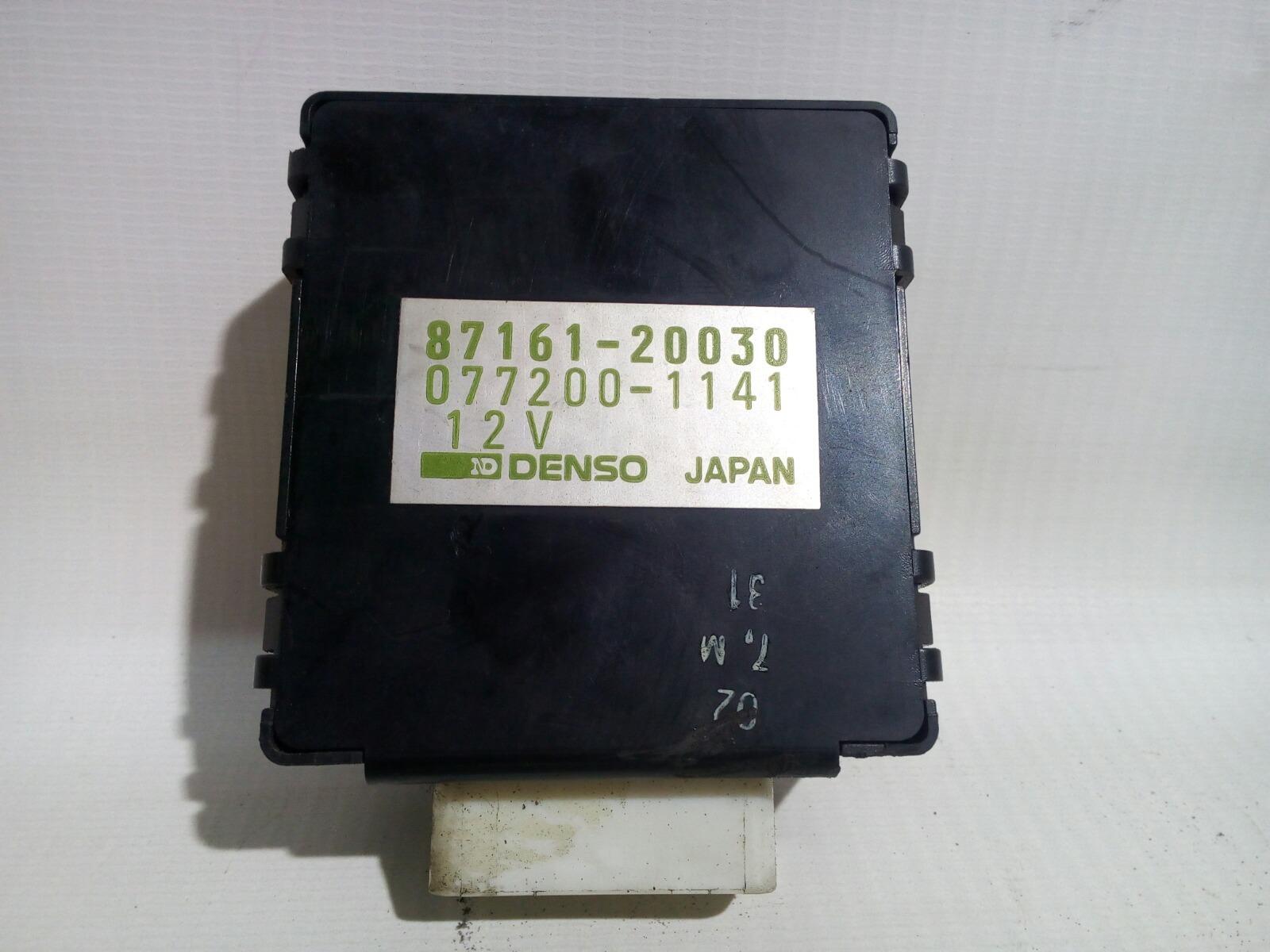 Блок управления Toyota Camry Prominet VZV32 4VZ-FE 1992