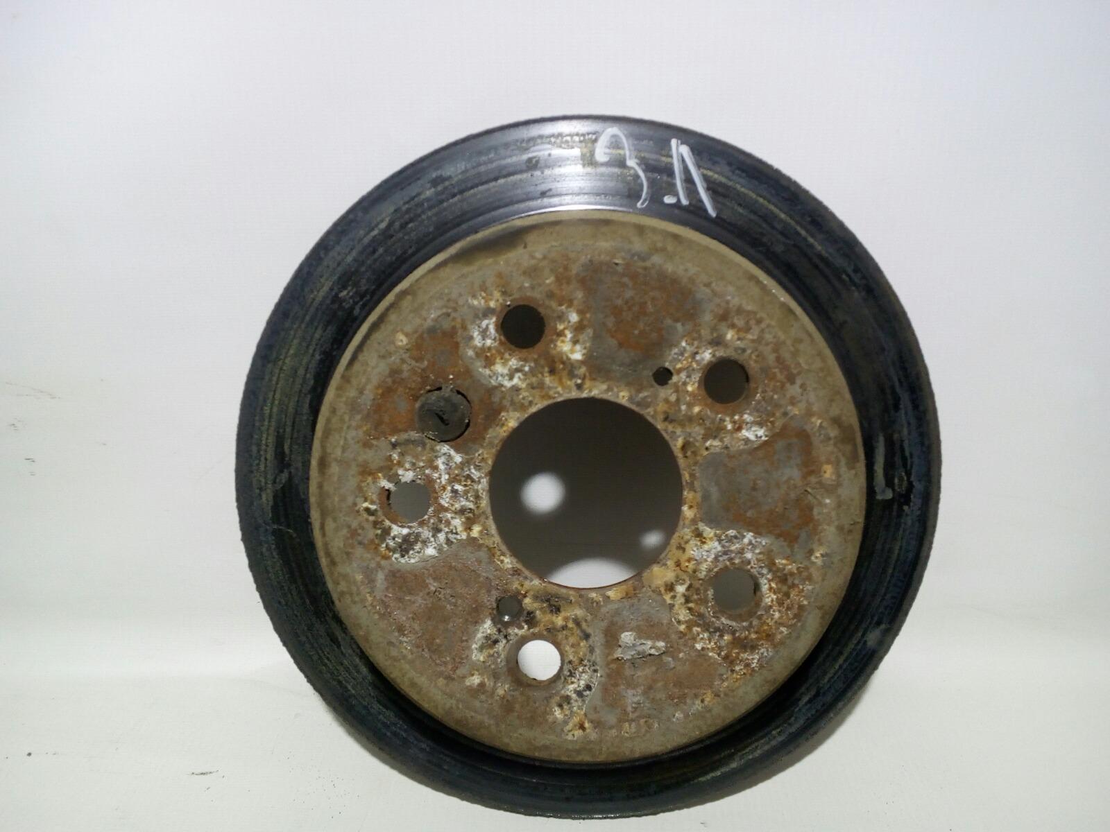 Диск тормозной Toyota Camry Prominet VZV32 4VZ-FE 1992 задний левый