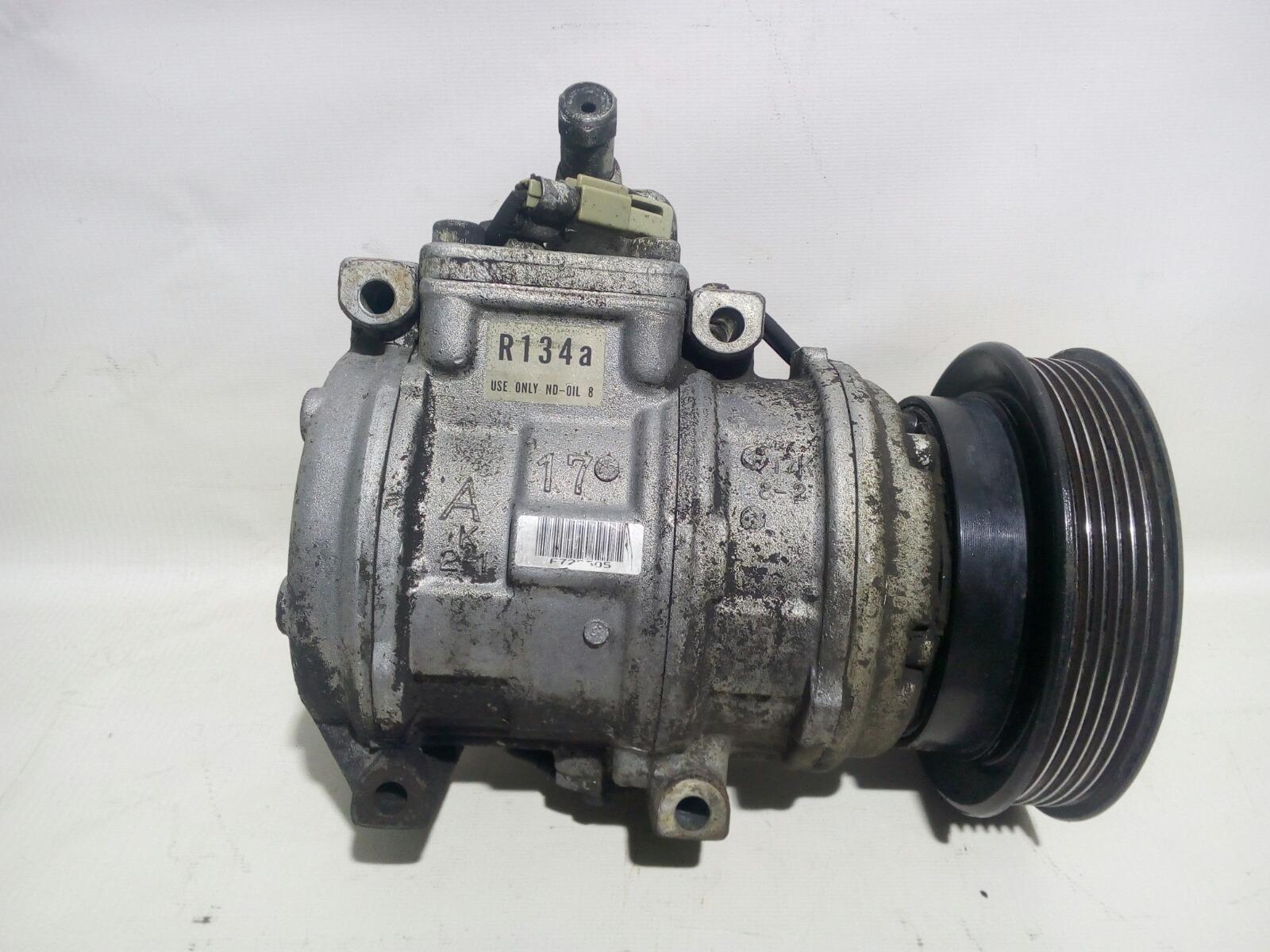 Компрессор кондиционера Toyota Camry Prominet VZV32 4VZ-FE 1992