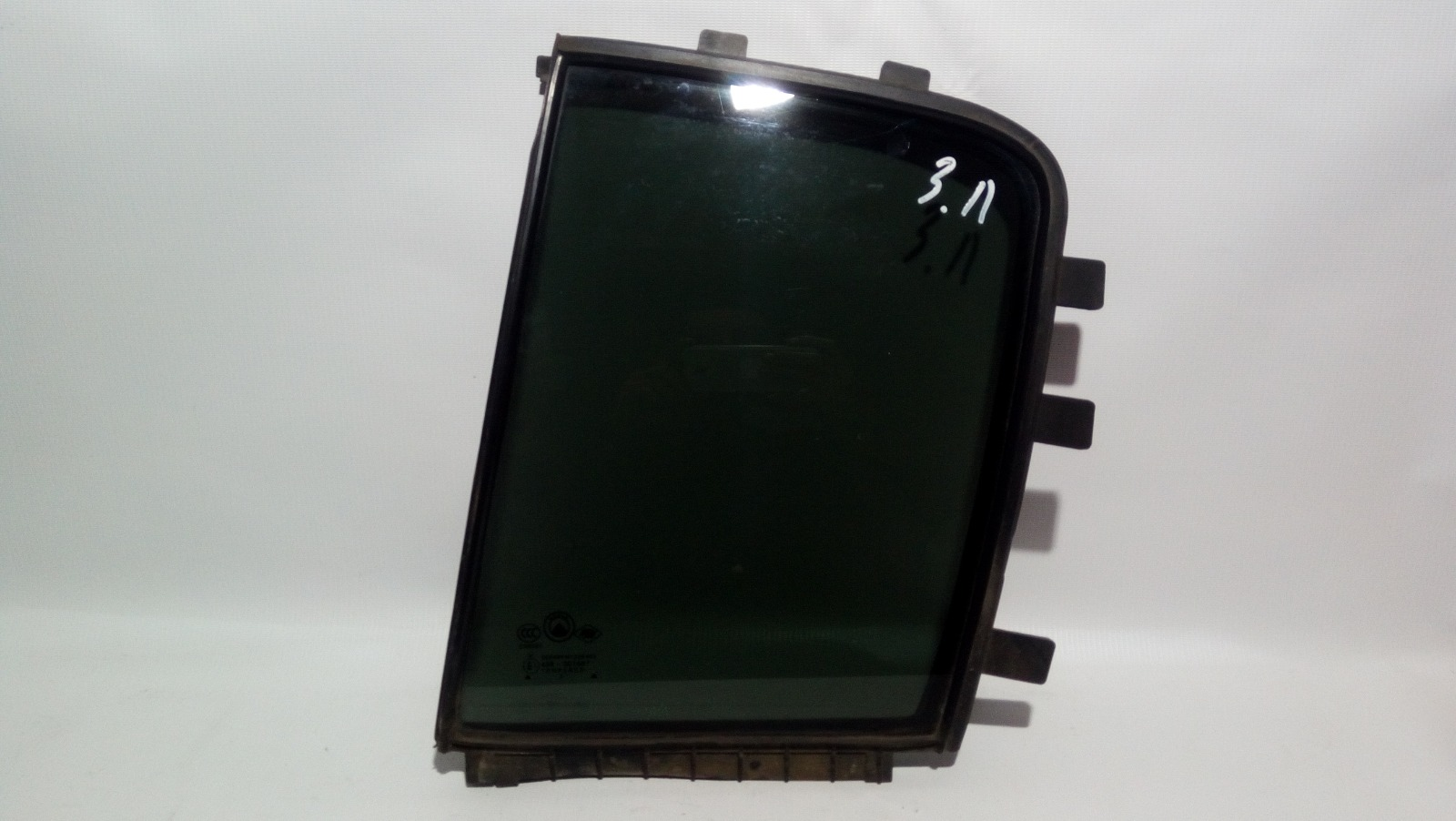 Форточка двери Geely Mk Cross 5A-FE 2013 задняя левая