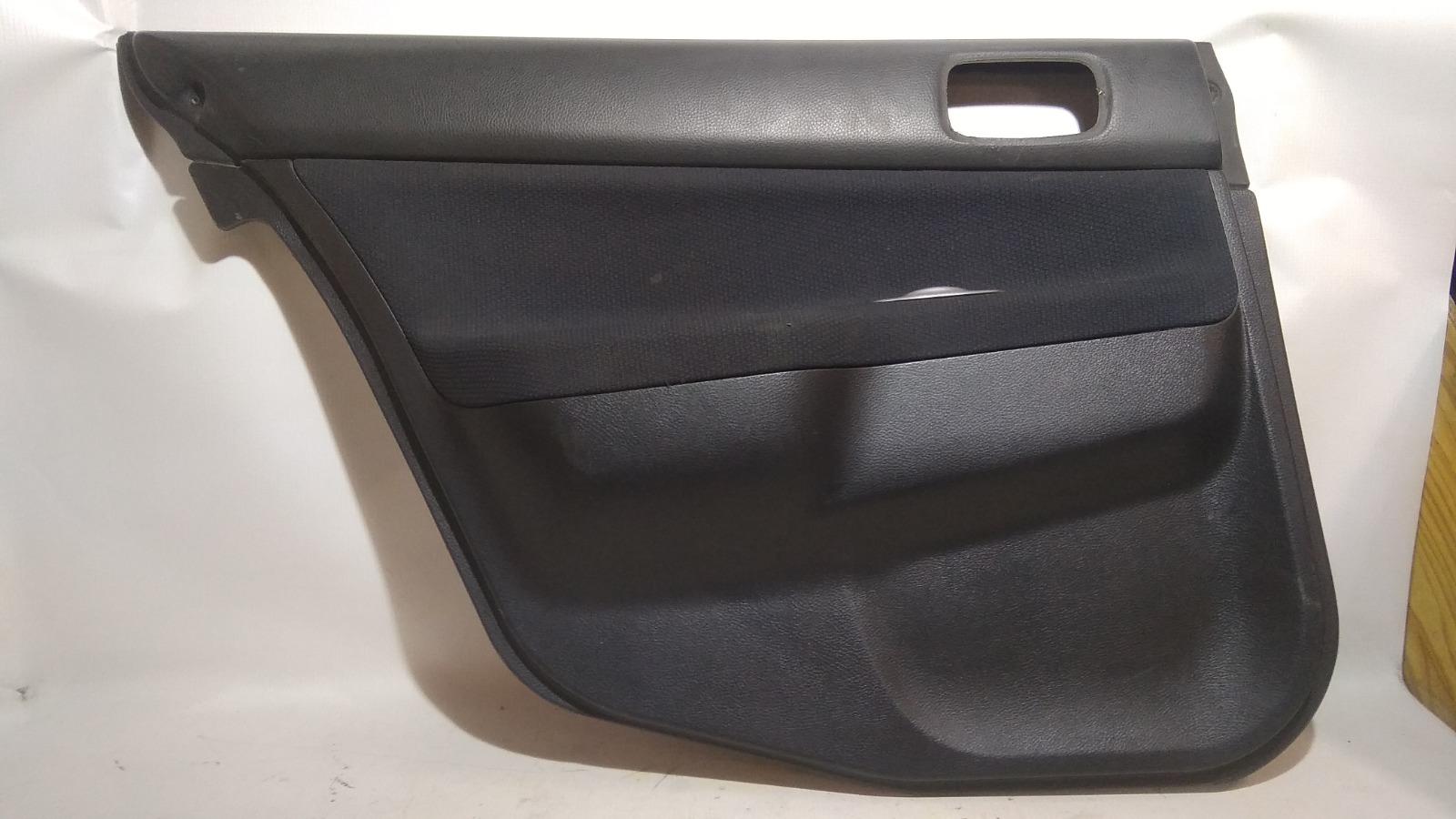 Обшивка двери Mitsubishi Lancer CS2V 4G15 2005 задняя левая
