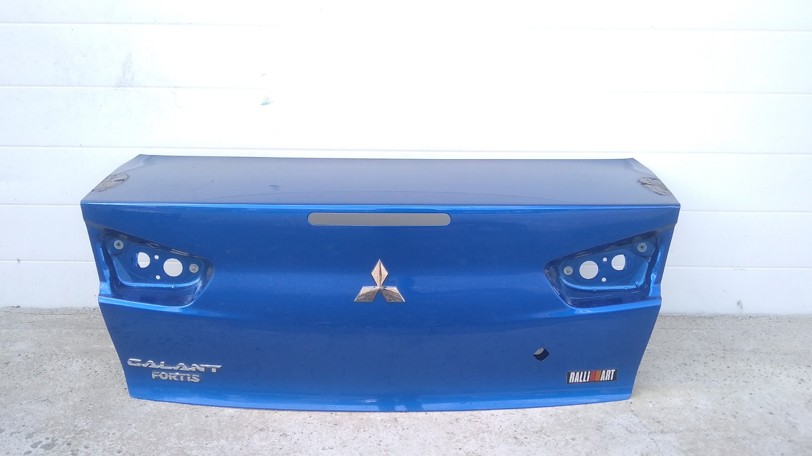 Крышка багажника Mitsubishi Galant Fortis Ralliart CY4A 4B11 2009
