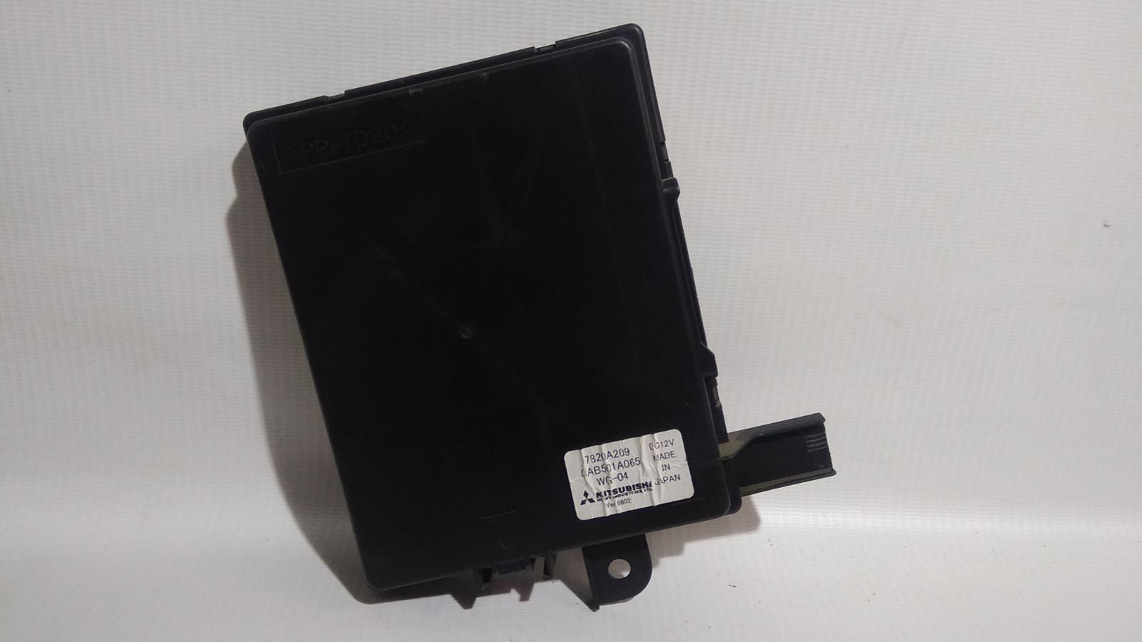 Блок управления климат-контролем Mitsubishi Galant Fortis Ralliart CY4A 4B11
