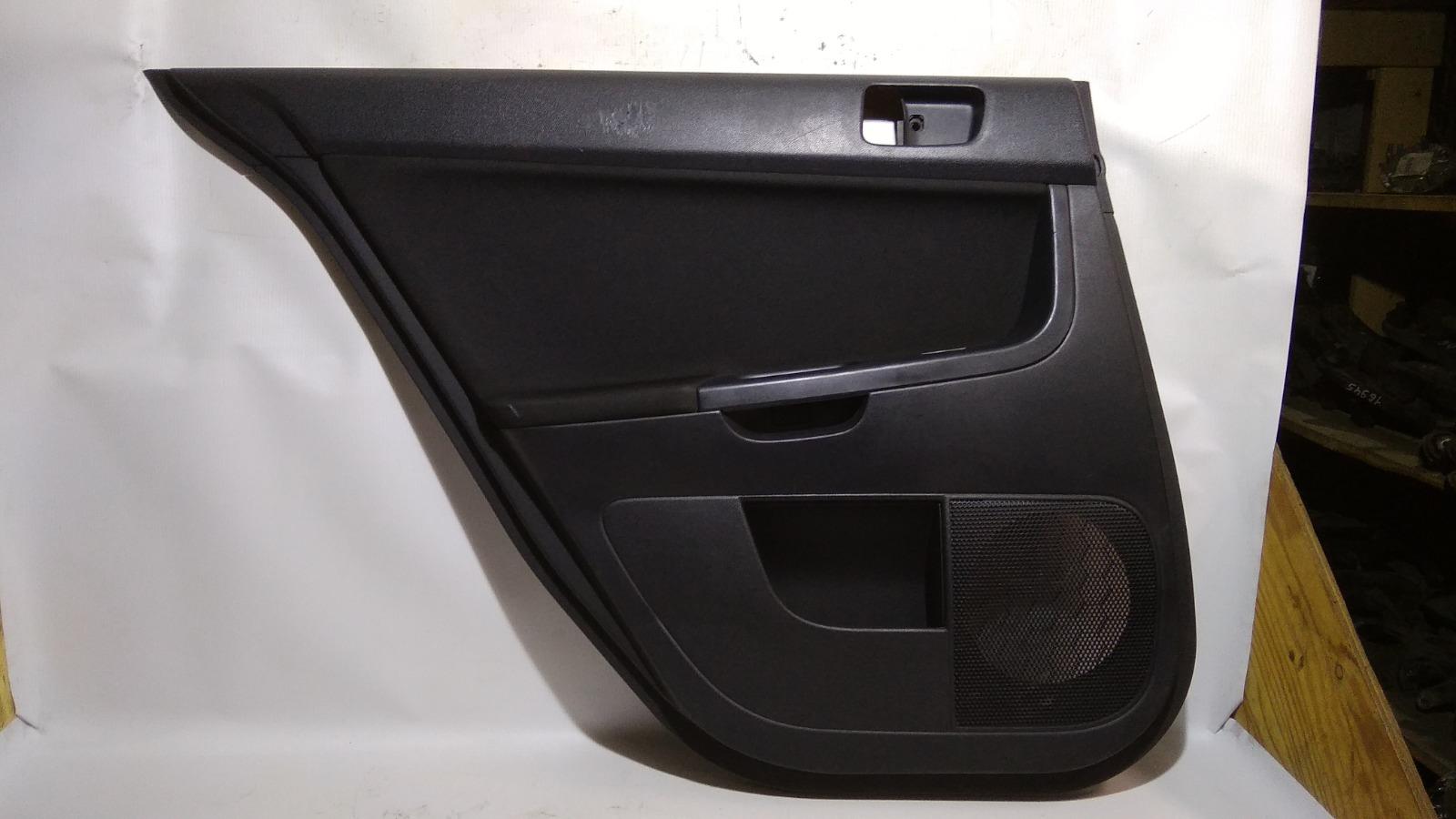 Обшивка двери Mitsubishi Lancer CY4A 4B11 2008 задняя левая