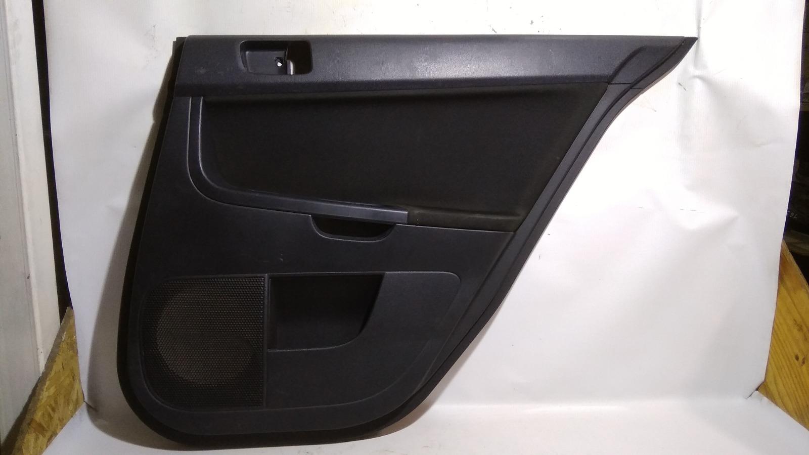 Обшивка двери Mitsubishi Lancer CY4A 4B11 2008 задняя правая