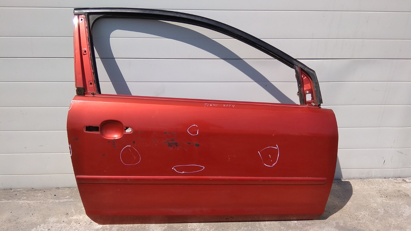Дверь Ford Focus CB4 ASDA 2007 передняя правая