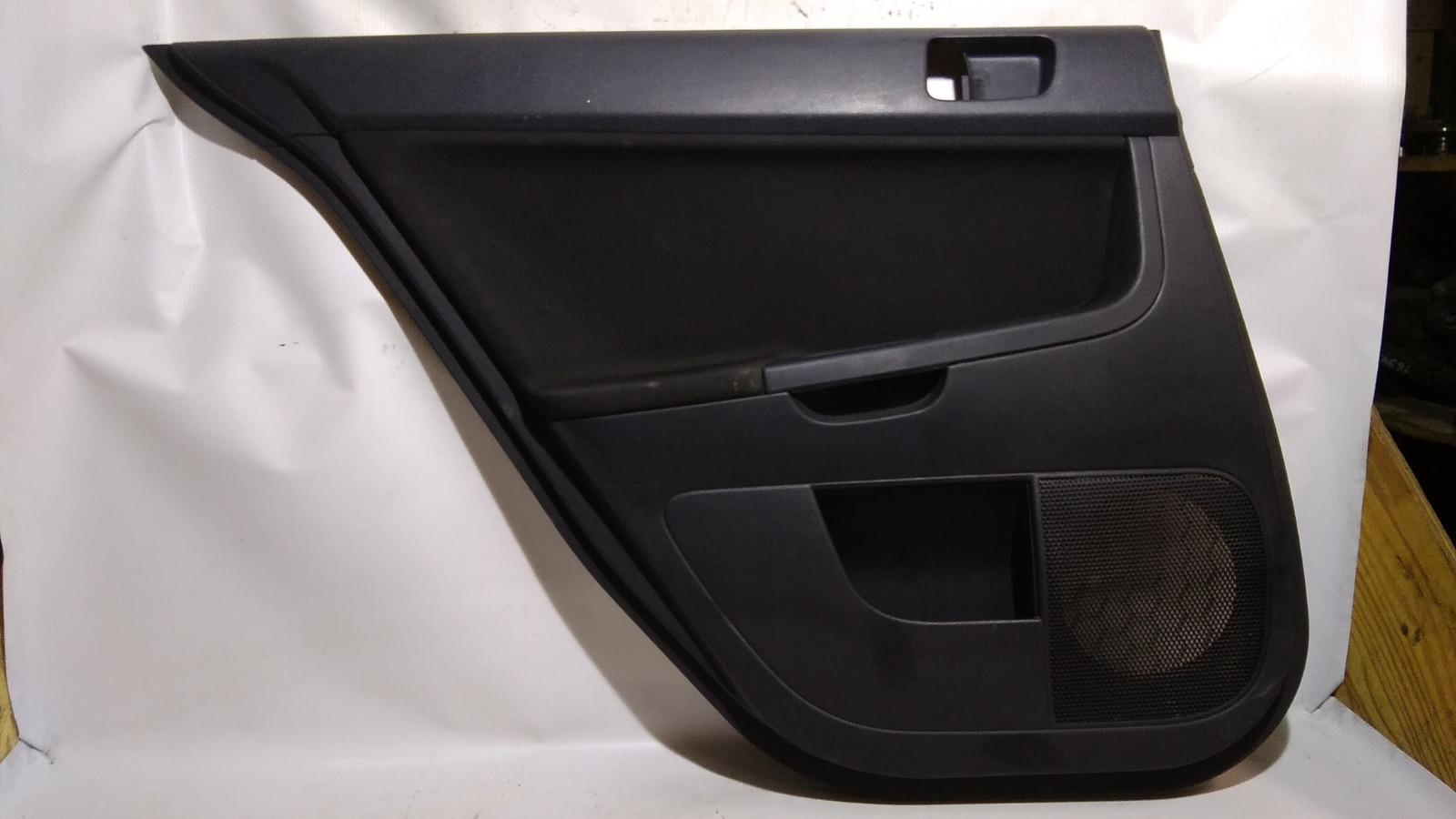 Обшивка двери Mitsubishi Lancer CX3A 4B10 2008 задняя левая