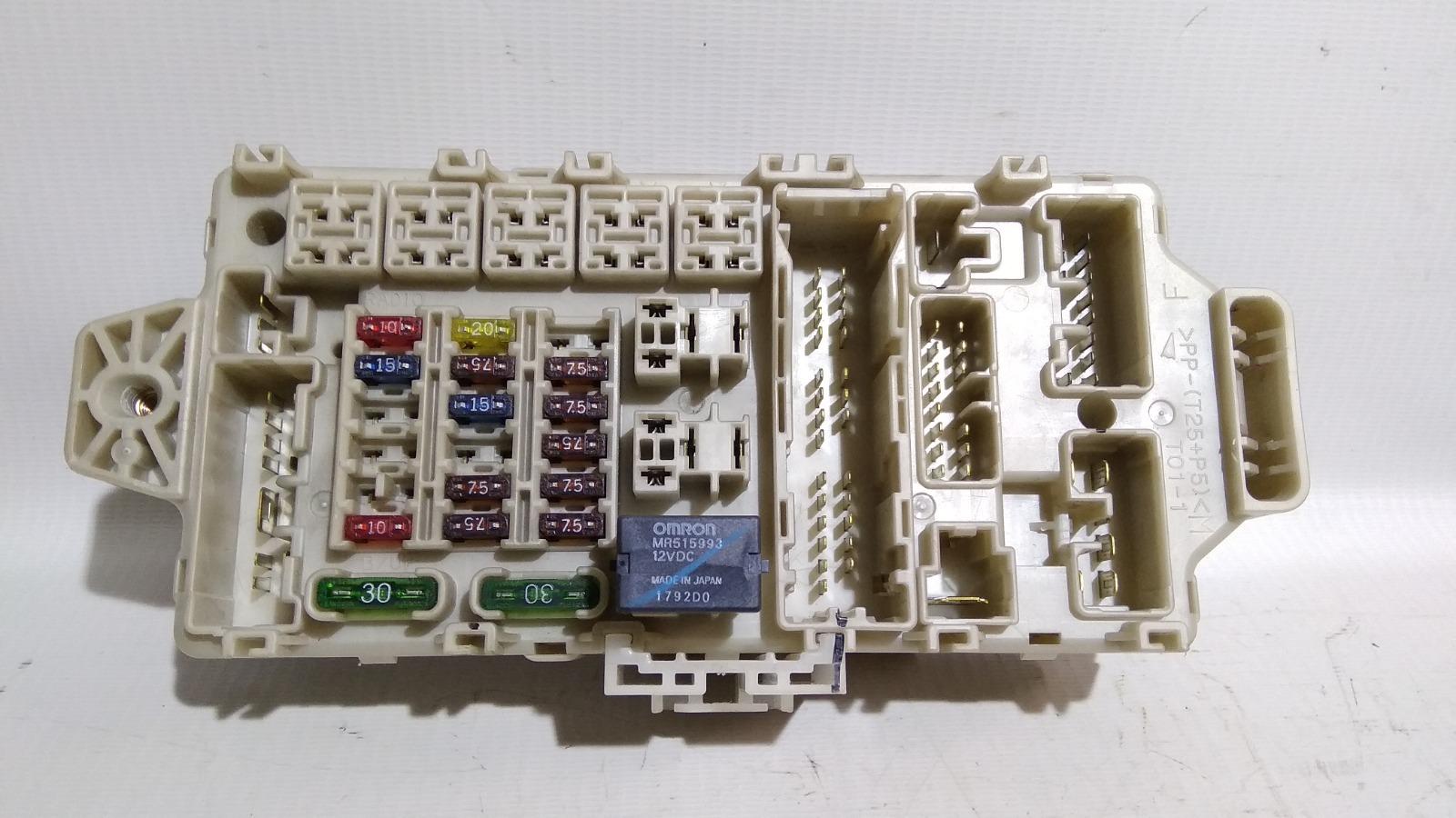 Блок предохранителей салона Mitsubishi Airtrek CU2W 4G63T 2002