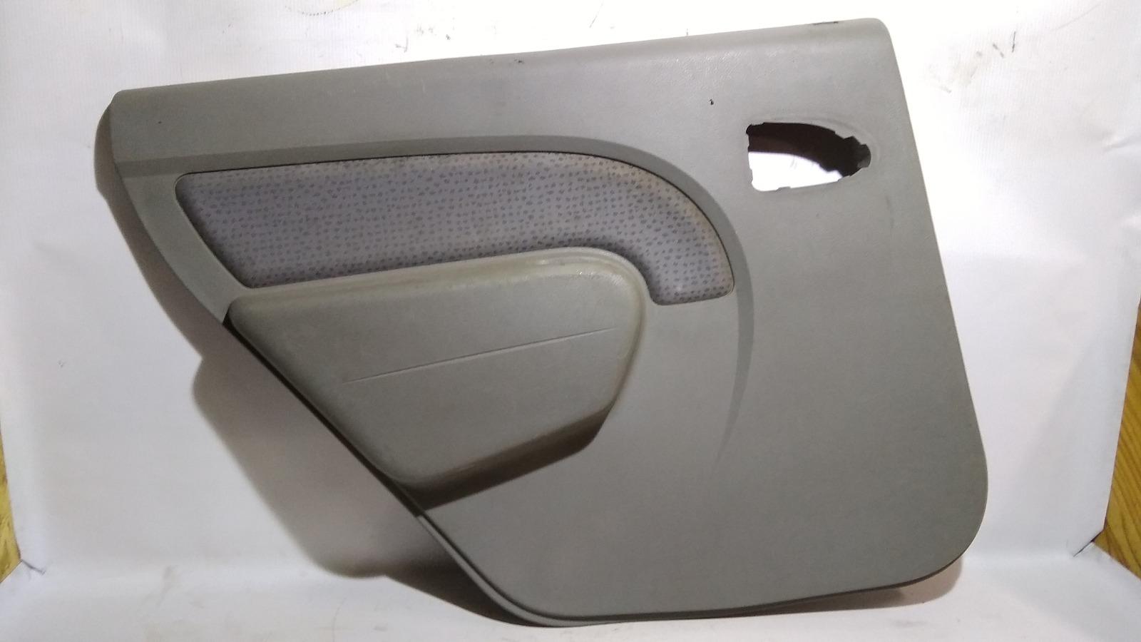 Обшивка двери Renault Logan LS0G/LS12 K7M 2005 задняя левая