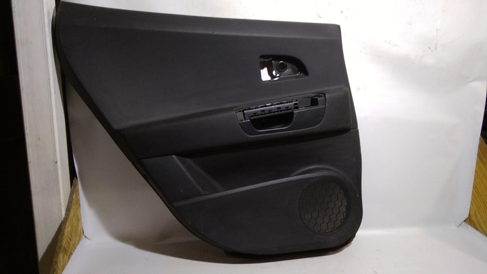 Обшивка двери Kia Ceed ED G4GC 2007 задняя левая