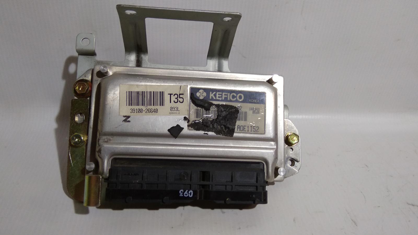 Блок управления двс Hyundai Accent LC2 G4ECG 2000