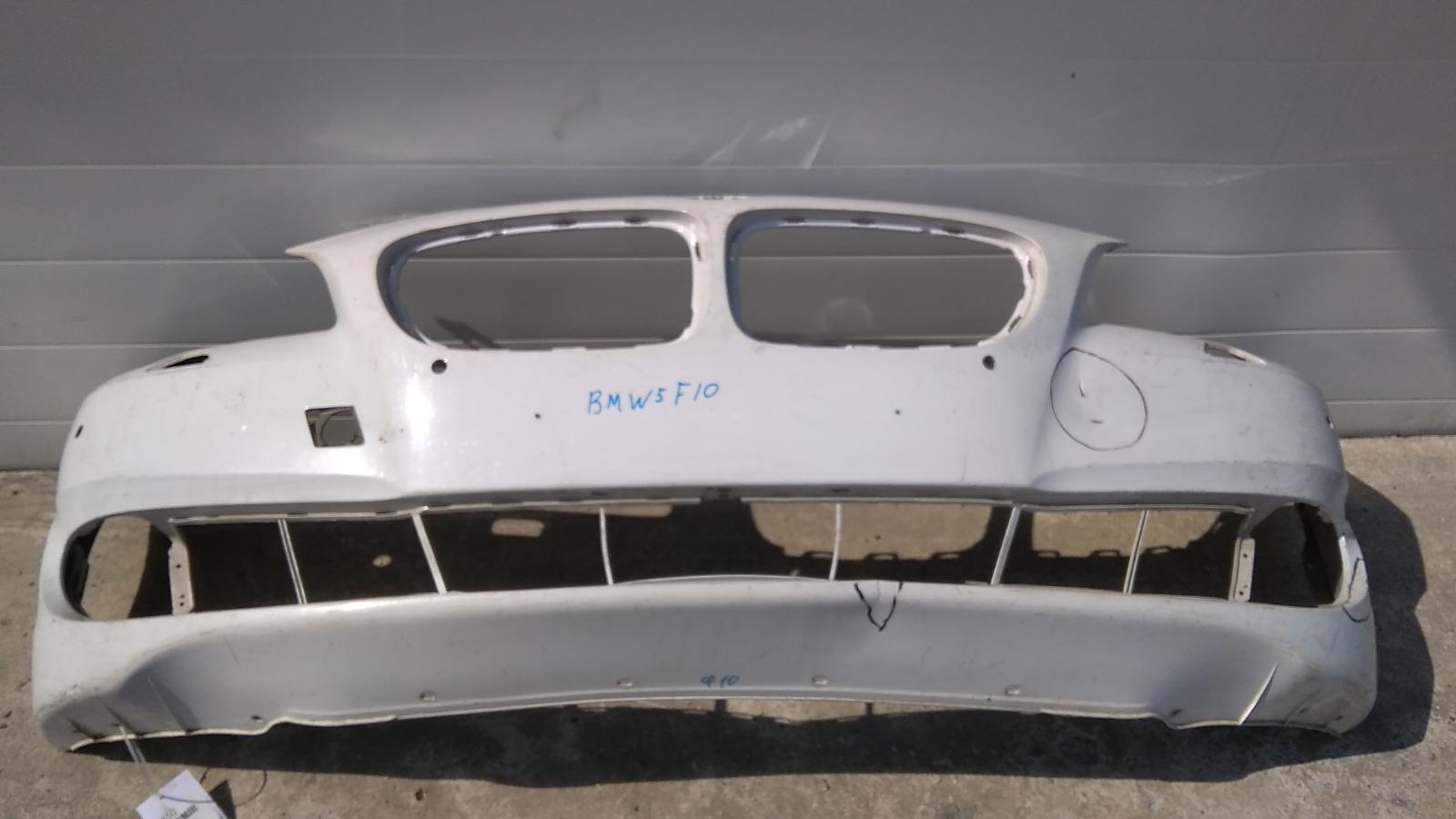 Бампер Bmw 5-Series F10 B47D20 2009 передний