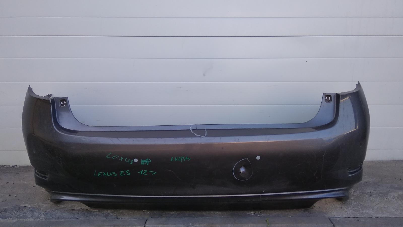 Бампер Lexus Es250 ASV60 2AR-FE 2012 задний