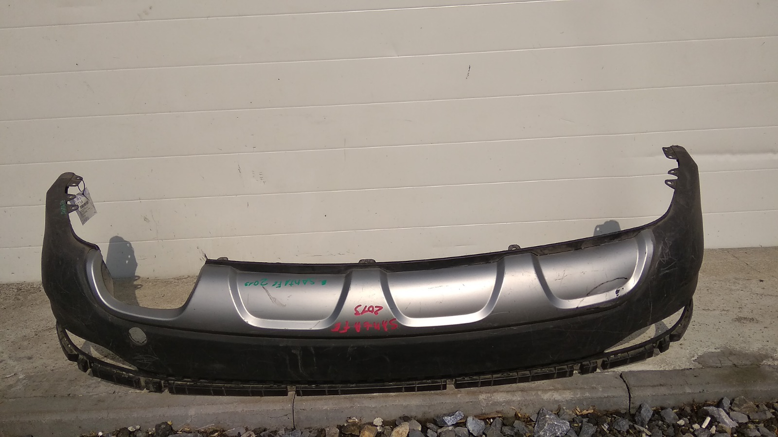 Бампер Hyundai Santa Fe DM D4HB 2012 задний