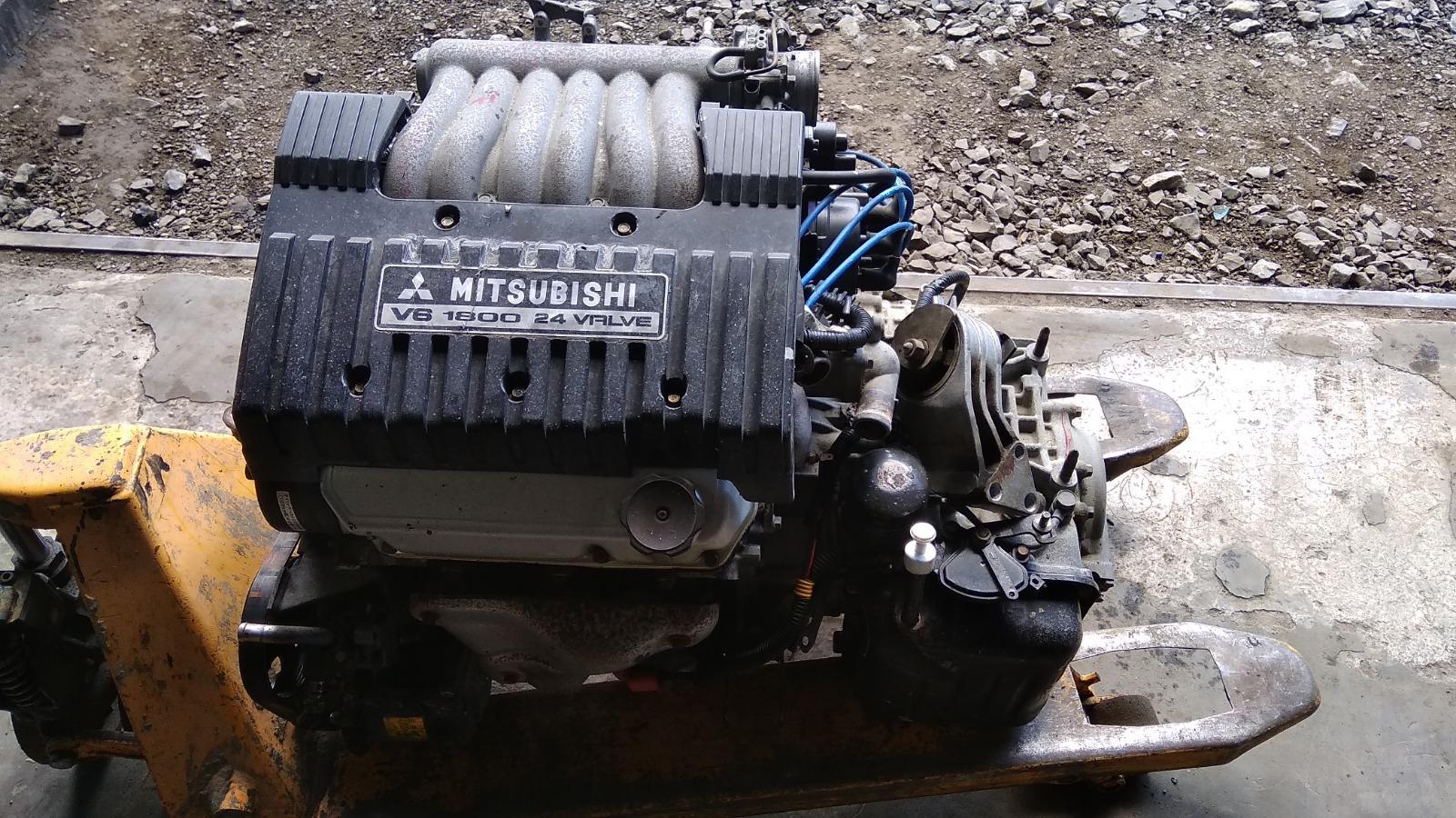 Двигатель Mitsubishi Lancer CK6A 6A11 1997