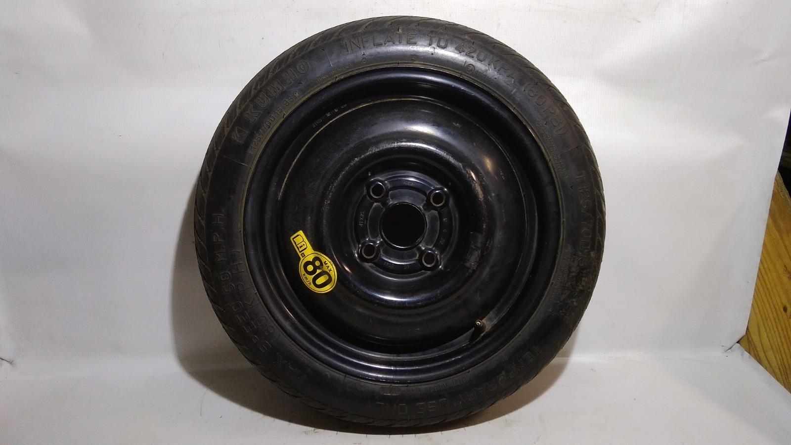 Колесо запасное Chevrolet Lacetti J200 F14D3 2012