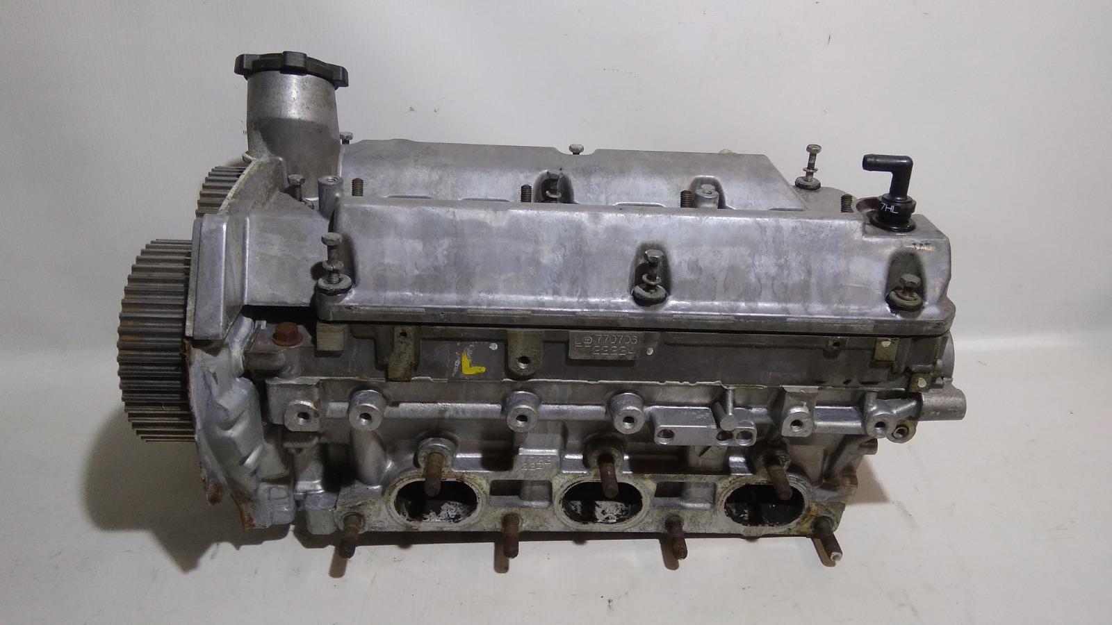 Головка блока цилиндров Mitsubishi Challenger K99W 6G74 1997 левая