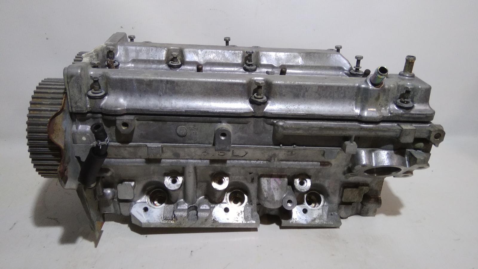 Головка блока цилиндров Mitsubishi Challenger K99W 6G74 1997 правая