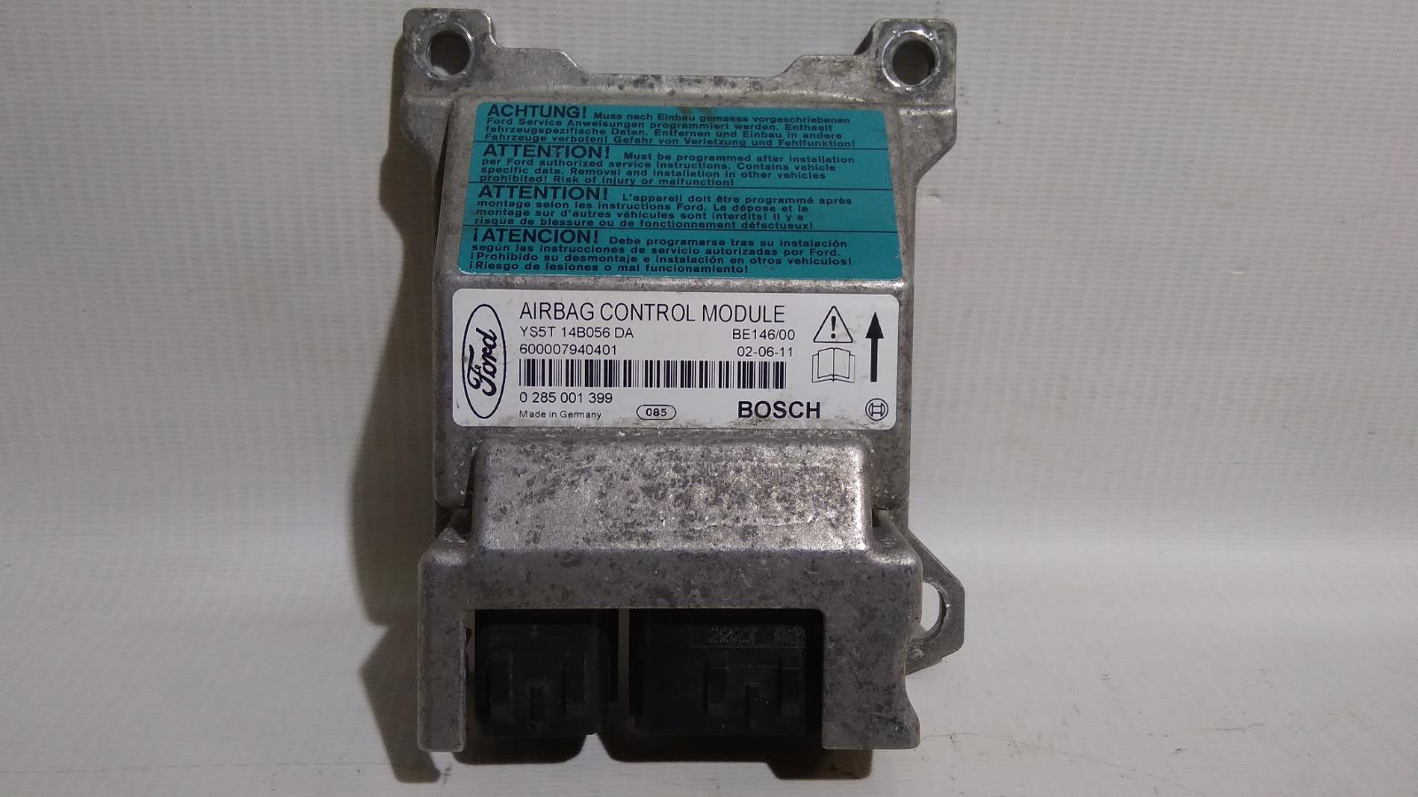 Блок управления airbag Ford Ka BAA 1996