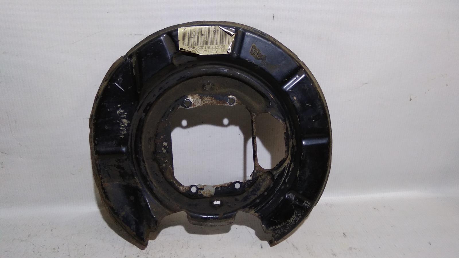 Щиток тормозного механизма Bmw 5-Series E39 M52B25 1995 задний левый