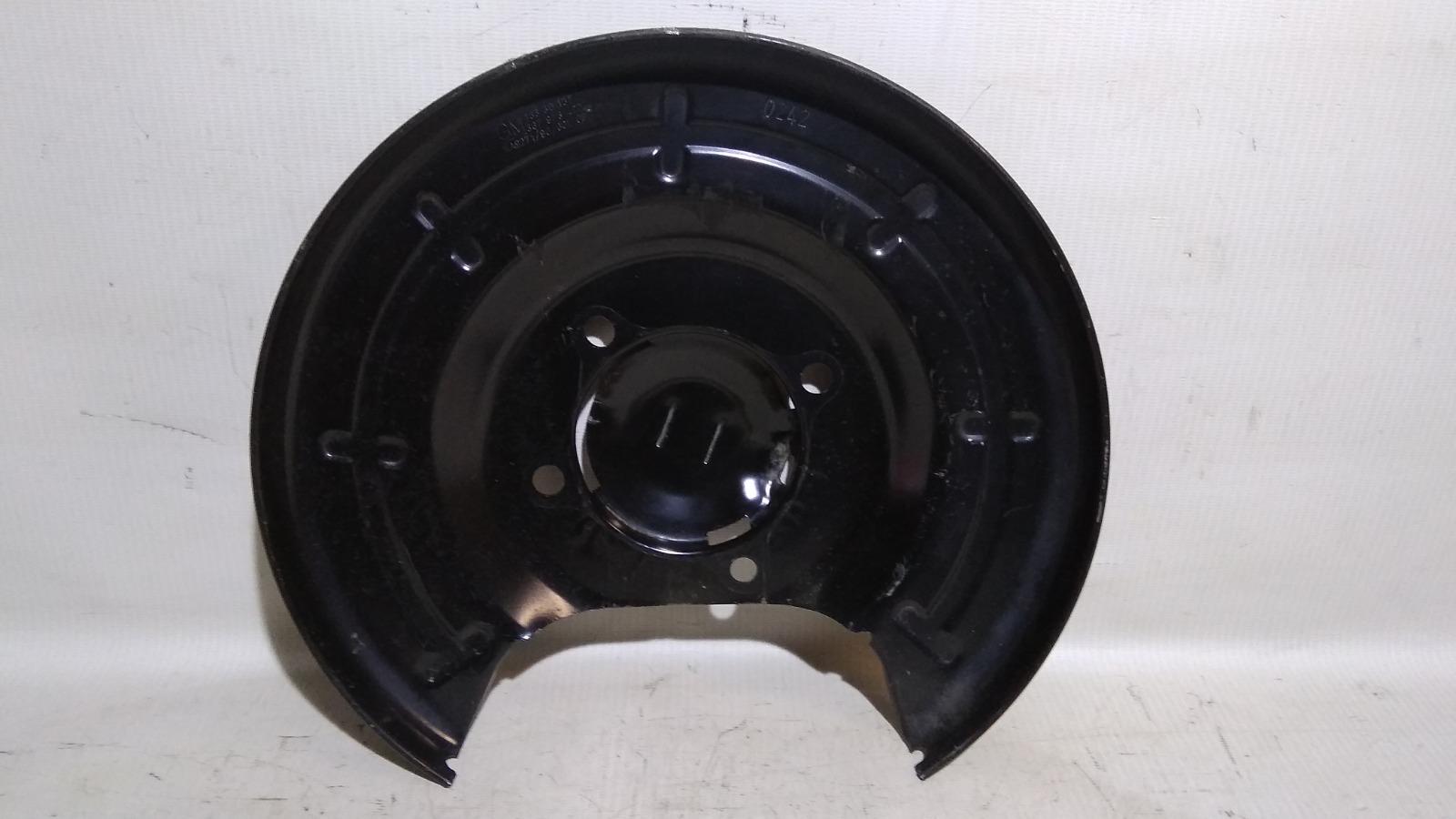 Щиток тормозного механизма Chevrolet Cruze J300 F16D3 2009 задний левый